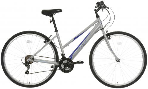 Apollo Excelle Womens Hybrid Bike - Grey, 17