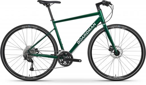 Boardman HYB 8.6 Mens Hybrid Bike 2021 - Green - S, M, L Frames