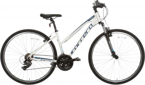 Carrera Crossfire 1 Womens Hybrid Bike 2020 - White - S, M, L Frames