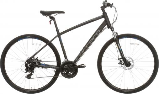 Carrera Crossfire 2 Mens Hybrid Bike 2020 - Black - S, M, L Frames