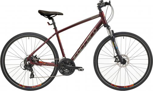 Carrera Crossfire 2 Mens Hybrid Bike 2020 - Red - S, M, L Frames