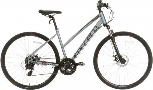 Carrera Crossfire 2 Womens Hybrid Bike 2020 - Grey - S, M, L Frames