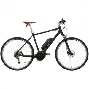 Carrera Crossfuse Mens Electric Hybrid Bike - 17