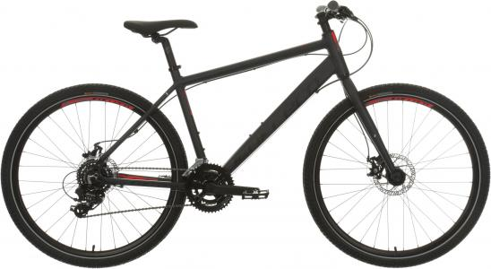 Carrera Subway 1 Mens Hybrid Bike 2020 - Dark Grey - S, M, L, XL Frames