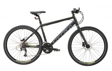 Carrera Subway 2 Mens Hybrid Bike 2020 - Black - S, M, L, XL Frames