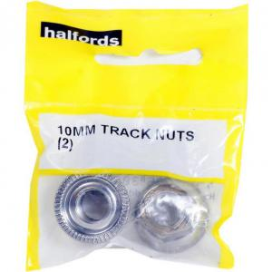 Halfords 10mm Wheel Track Nuts