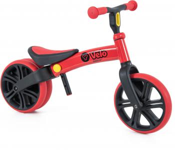 Y Velo Junior Balance Bike - Red - 9