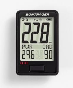 Bontrager RIDEtime Elite Cycling Computer without Sensor Black