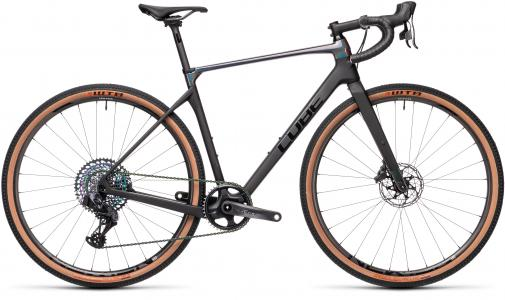 Cube Nuroad C62 SL Sram Force eTap AXS 12sp Carbon Gravel Bike Crb/blk