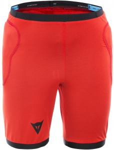 Dainese Scarabeo Junior Protective Shorts Red