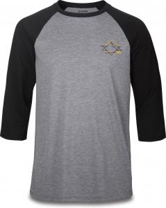 Dakine Alpine 3/4 Raglan Tech Tee Black