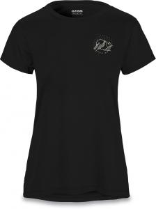 Dakine Mountain Stars Womens SS Tech Tee Black