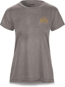 Dakine Mountain Stars Womens SS Tech Tee Heather Graphite