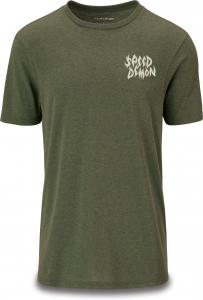 Dakine Speed Demon SS Tech Tee Dark Olive Heather