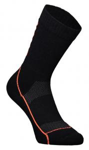 Mons Royale Womens MTB 9in Tech Sock Up Down Black/Neon