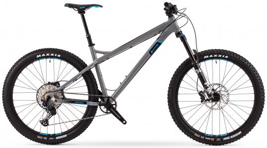 Orange Crush Pro 27.5 Hardtail Mountain Bike 2021 Norlando Grey