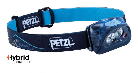 Petzl Actik Headlamp Blue