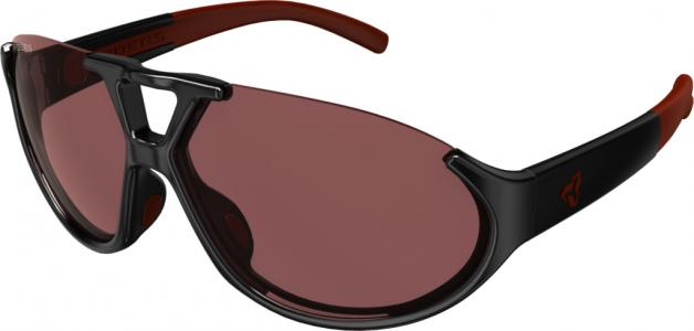 Ryders Straz Anti-Fog Lens Sunglasses Black/Rose