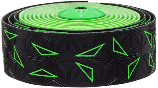 Supacaz Super Sticky Kush Bar Tape Star Fade Neon Green