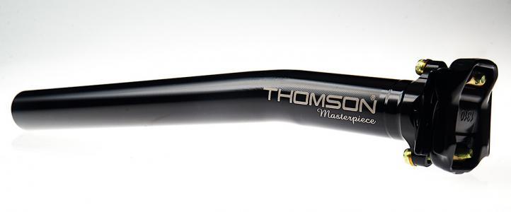 Thomson Masterpiece Aluminium Setback Seatpost Black