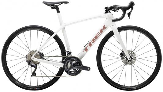 Trek Domane SL 6 Road Bike 2021 Crystal White