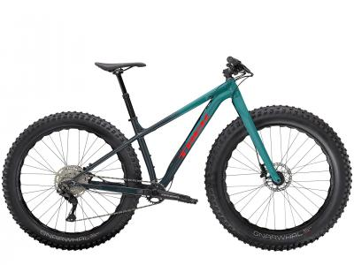 Trek Farley 5 Deore 10Spd Hardtail fat Bike 2021 Nautical Navy /Teal