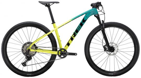 Trek X-Caliber 9 Hardtail Mountain Bike 2021 Teal/Volt Fade