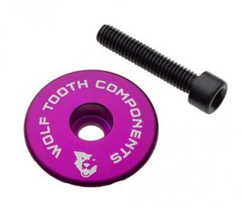Wolf Tooth Ultralight Stem Cap And Bolt Purple