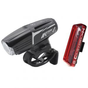 Moon Meteor-X Pro Front & Comet-X Rear Rechargeable Bike Light Set 2019