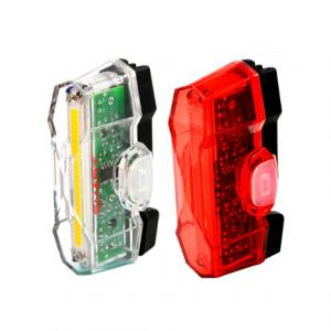 Smart Vulcan Front & Vulcan Rear LED USB Rechargeable Bicycle Light Set
