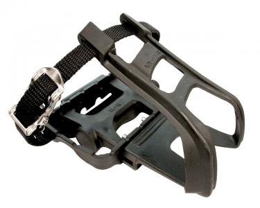 ETC Resin Toe Clip Pedal with Straps