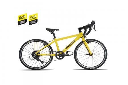 Frog 58 Tour de France 2021 Kids Aluminium Road Bike Yellow
