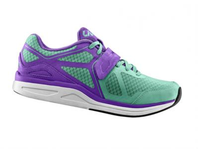 Liv Avida Womens Cycling Shoe Green / Purple