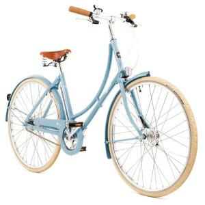 Pashley Poppy 3 Speed 2021 Womens Steel Hybrid Bike Blue