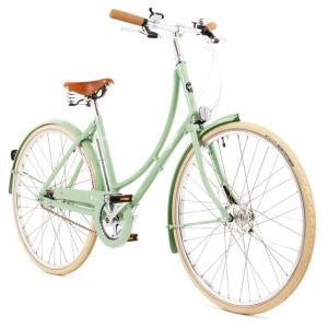 Pashley Poppy 3 Speed 2021 Womens Steel Hybrid Bike Green