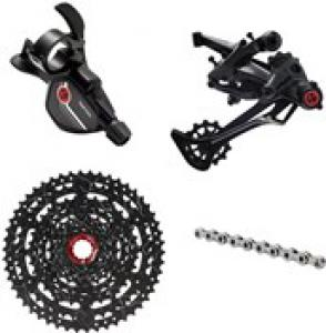 Box Components Two Prime E-Bike 9 Speed X-Wide Groupset