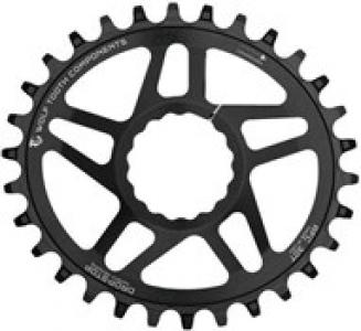 Wolf Tooth Elliptical Direct Mount Chainring for Race Face Cinch for Shimano 12spd Chain