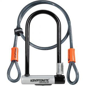 Kryptonite Kryptolok U-Lock with 4 Foot Kryptoflex Cable