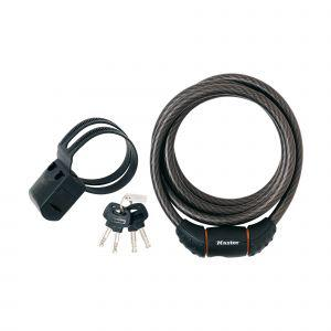 Master Lock Cable Key Lock 12mm x 1.8M