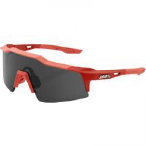 100% Speedcraft SL Soft Tact Coral Sunglasses