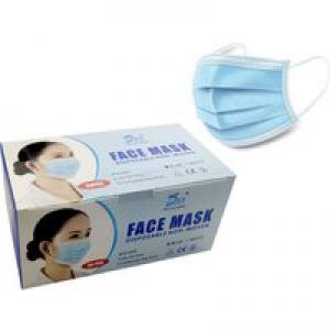 GCPC Disposable Face Mask - 50 Pack