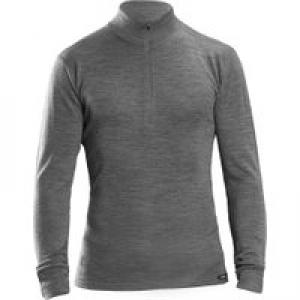 GripGrab Merino Bamboo 1/2 Zip Long Sleeve Base Layer