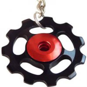 Recycle and Bicycle Jockey Wheel Keyring