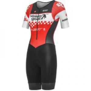 Stolen Goat Women's Race Team Red Tri-Suit Sleeves