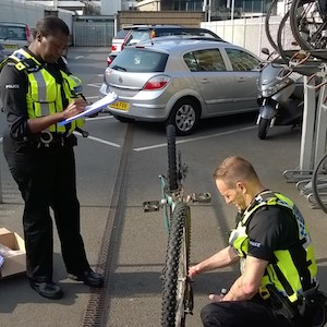 Free Cycle Locks From UK Police